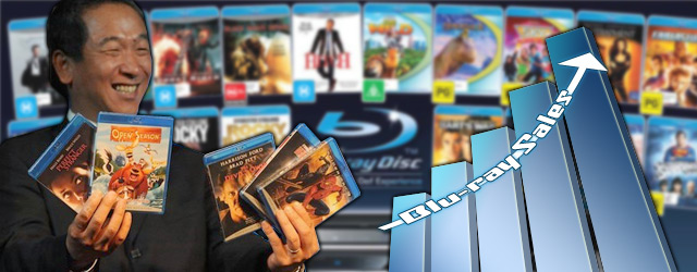 Blu-ray (BD) Sales Boost 2010