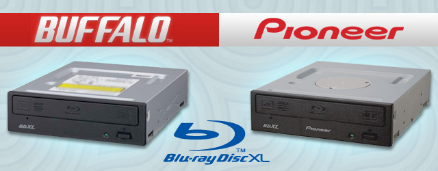 BDXL Pioneer Buffalo Blu-ray Writers
