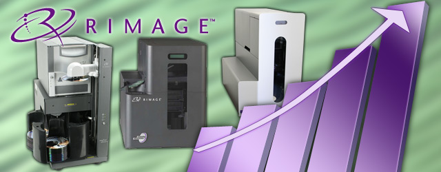 Rimage 2010 Sales Disc Printing, Publishing