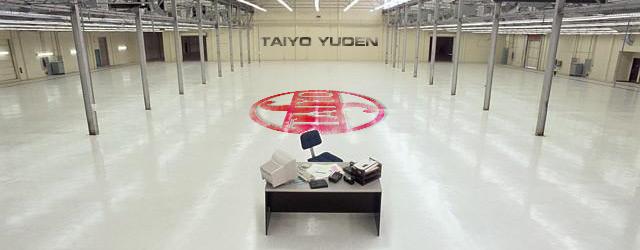 Taiyo Yuden empty warehouse