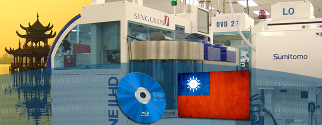 Taiwan Gains Ground in Blu-ray Manufacturing and Sales