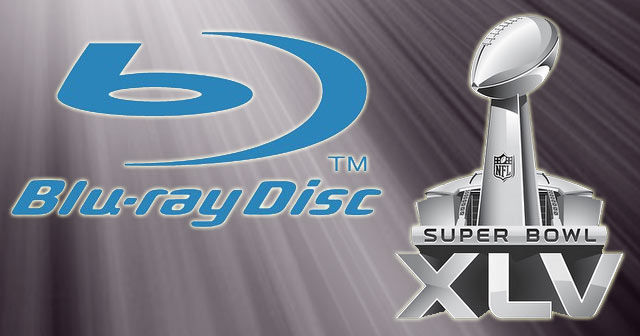 Super Bowl XLV 2011 Blu-ray