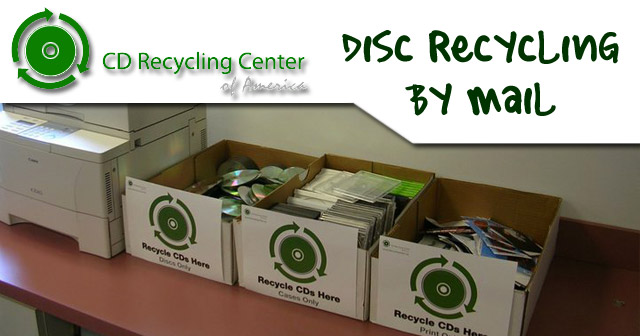 CD Recycling Center of America: CD/DVD Disc Recycling by Mail