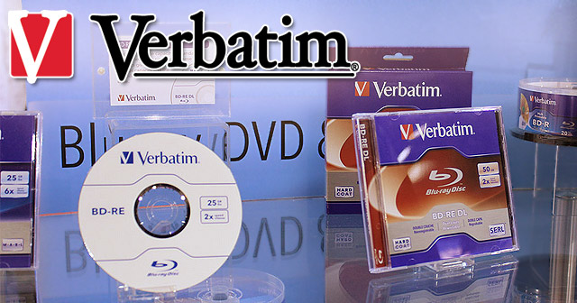 Verbatim BD-RE DL Blu-ray Discs