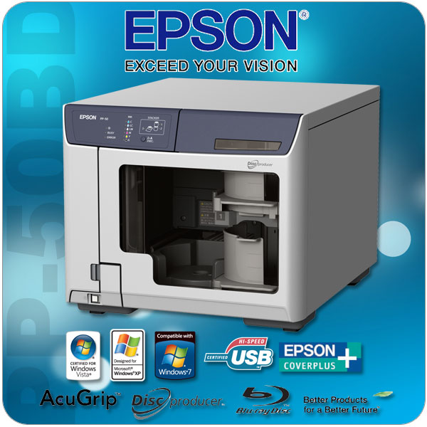Epson DiscProducer PP-50BD Blu-ray Publisher